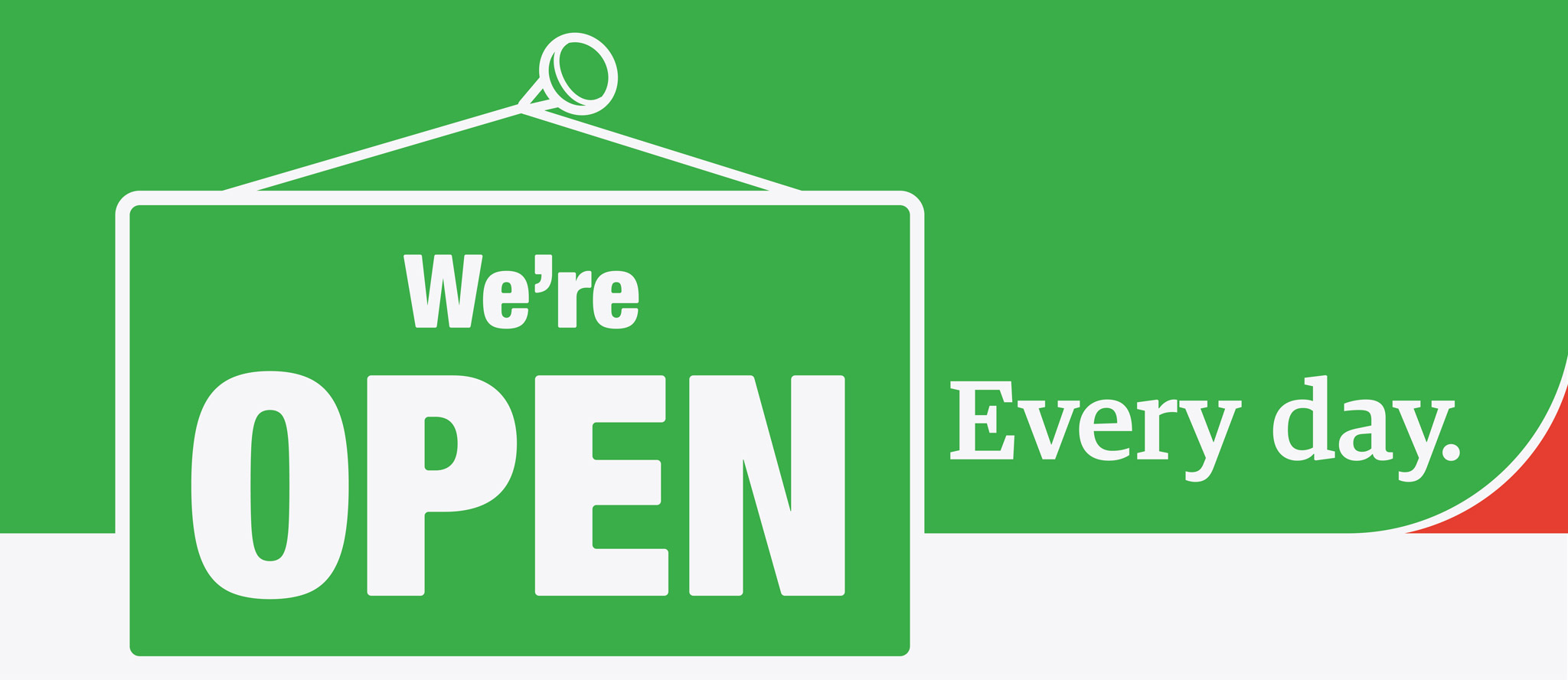 First Care - We're Open - Every Day